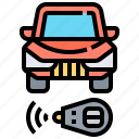 automotive, car, control, remote, vehicle icon