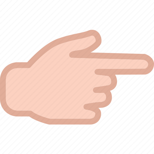 finger, forward, hand, interaction, play, touchright icon