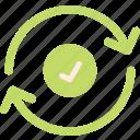 renew, ok, refresh icon