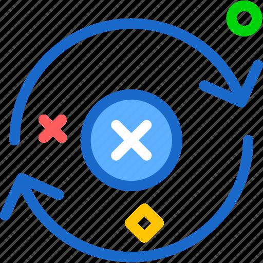 cancel, refresh, renew icon