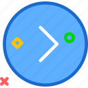 arrowright, circle, forward, play, right, round icon