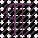 alphabet, letter, p