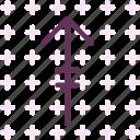 arrow, lineup, upload