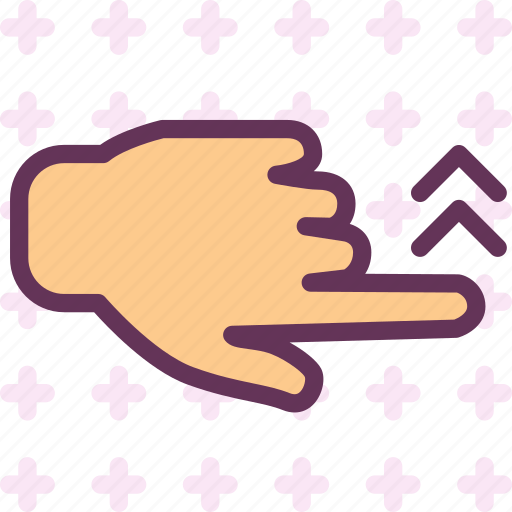 arrow, gesture, hand, repeat, up, upload icon