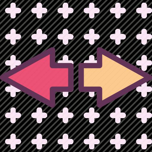 andright, forward, left, play, right icon