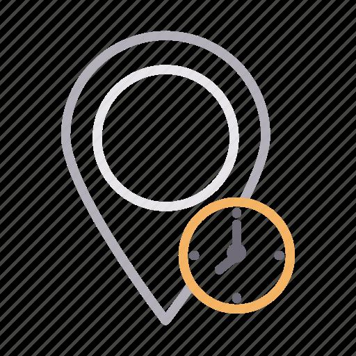 deadline, gps, location, map, pin icon