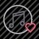 favorite, karaoke, like, love, music icon