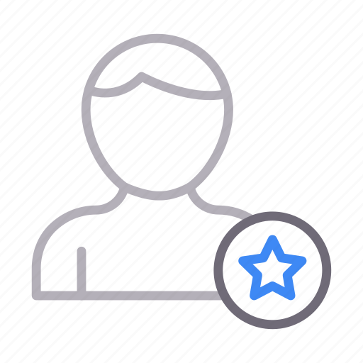 account, favorite, profile, starred, user icon