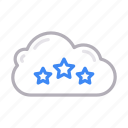 cloud, feedback, rating, server, storage icon