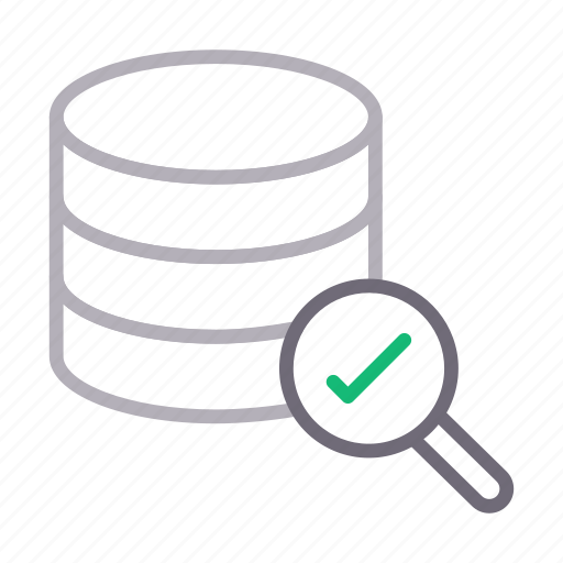 complete, database, search, server, storage icon