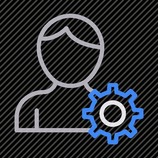 account, configure, profile, setting, user icon