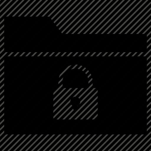 directory, files, folder, lock, private icon