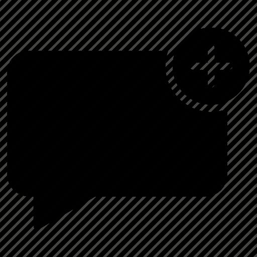 bubble, comment, create, message, new icon