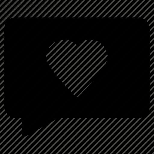 bubble, comment, favorite, message, text icon