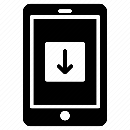 cell, device, download, mobile, phone icon