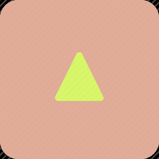 arrow, squareup, upload icon