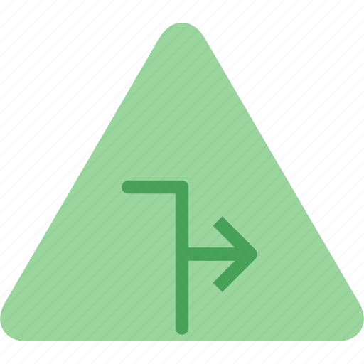 forward, play, sign, symbolright, triangle, warning icon