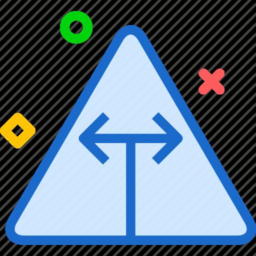 sign, symbolsides, triangle, warning icon