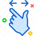 arrow, closeupup, hand, upload, zoom icon