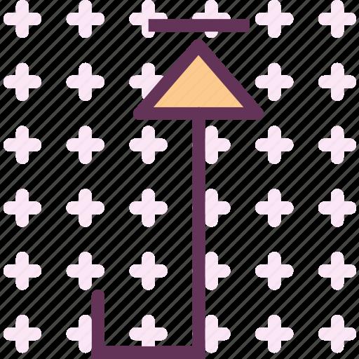 Up, arrow, upload icon