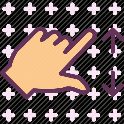 closeupright, forward, hand, play, right, zoom icon