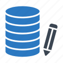 server, create, edit, database, storage icon