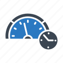 meter, performance, speed, stopwatch, time icon