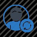 account, profile, refresh, reload, user