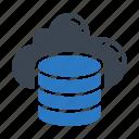 cloud, database, hosting, server, storage icon
