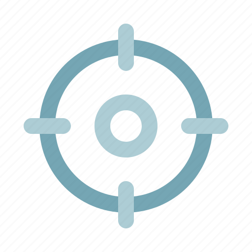 interface, location, navigation, target, user icon