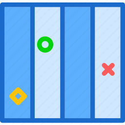 column, layout, style, table, view icon