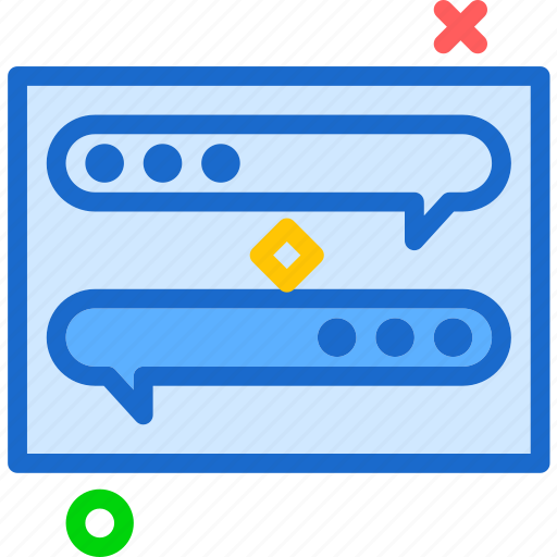 chat, conversation, messageconversation icon
