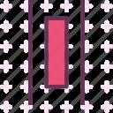 align, arrange, center, horizontal icon