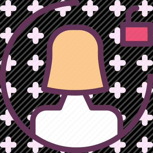 avatar, efemalelock, gallery, photos, picture icon