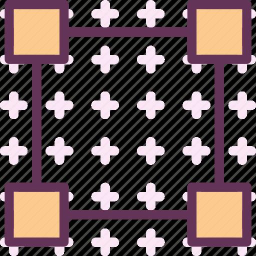 divide, edit, finder, path, square icon