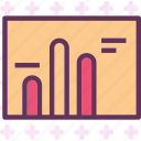 analysis, graph, interface, stats icon