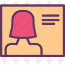 avatar, female, pic, profile, user icon