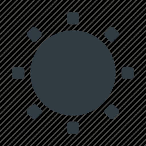 brightness, interface, ui, user icon