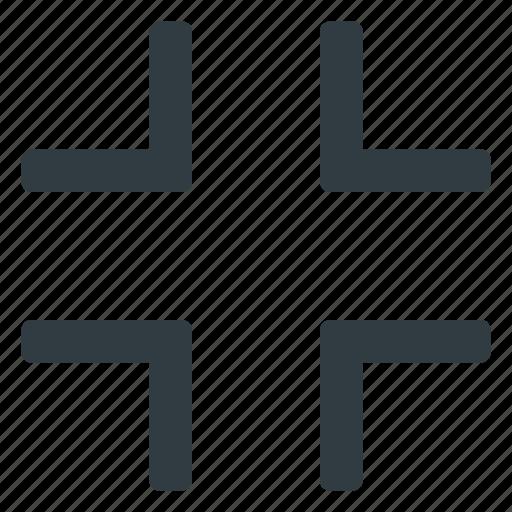 exit, fullscreen, interface, ui, user icon