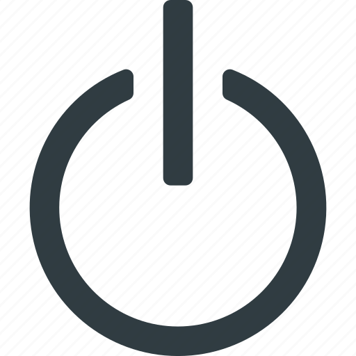 interface, off, on, power, ui, user icon