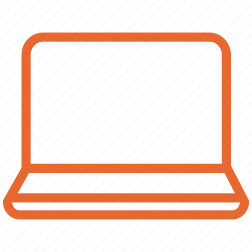 computer, device, display, laptop, notebook, web icon