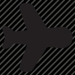 aircraft, airplane, flight, mode, plane, travel icon
