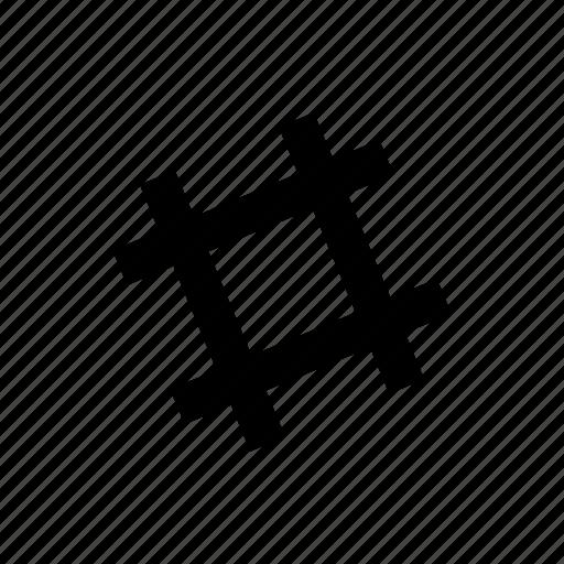 hash, internet, lattice, sign, slack, tag, twitter icon
