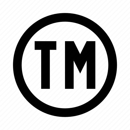 copyright sign symbolism tm trademark icon icon
