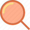 find, investigate, research, search icon