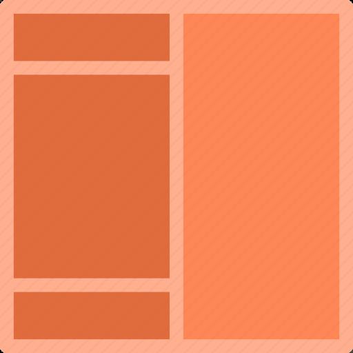 bar, interface, layout, topbottom, web icon