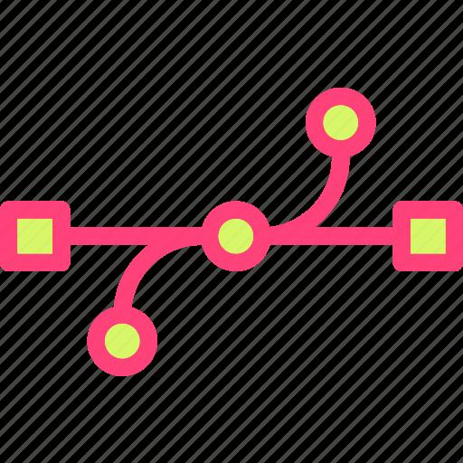 drag, edit, point, reshape, scale, transform icon