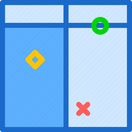 bar, layer, layout, reshape, scale, top, transform icon