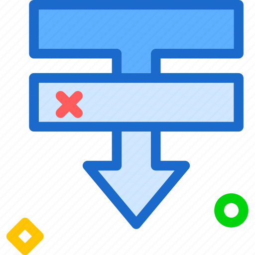 bottom, layers, order, under icon