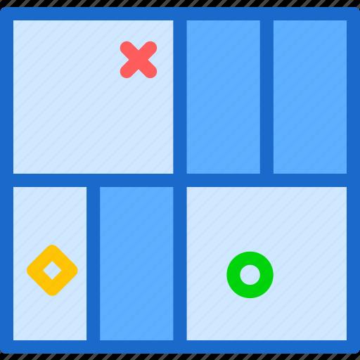 interface, layout, stylishgrid, table, web icon